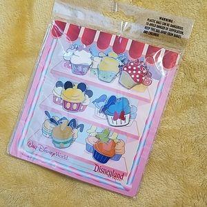 Disney Cupcake Pins - Full Set
